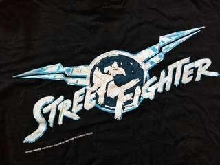 Vintage street fighter japan tee 90s
