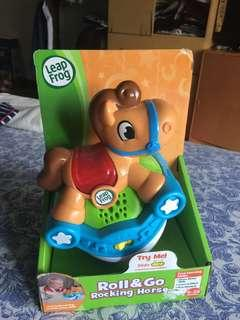 Roll and go rocking horse