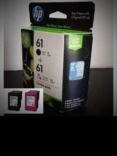 HP 61 COMBO PACK BLACK/COLOUR ORIGINAL INK CARTRIDGE