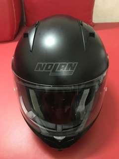 NOLAN N64 Matte Black