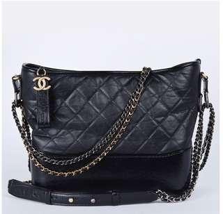 Chanel Gabrielle black M