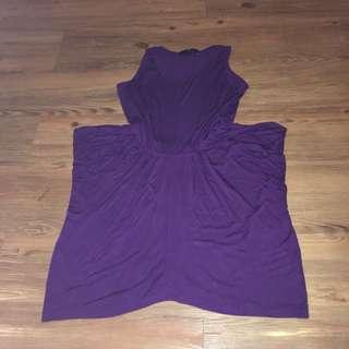 Violet Boxy Dress Size Small
