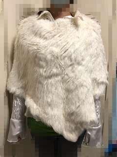 毛毛披肩(歐洲牌子兔毛披肩)