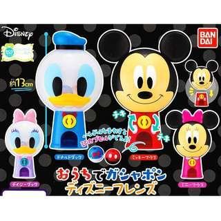(可交換)Disney 扭蛋 扭蛋機 Mickey 米奇