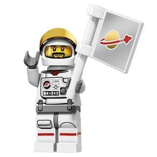 全新 LEGO 71011 Astronaut 人仔 S15-02