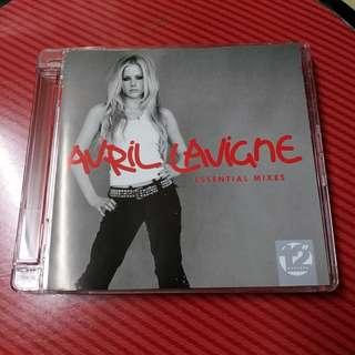 "AVRIL LAVIGNE Essential Mixes 12"" Masters CD"