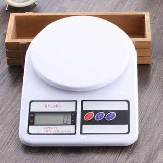 Kitchen digital scale up to 10kg accuracy 1g electronic weighing scale portable scale