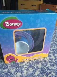Barney meal set