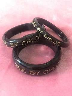Chloé Set of 3 Bangles