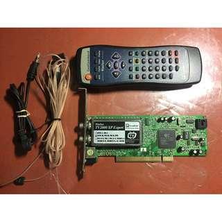 LeadTek PCI TV Tuner for Desktop PC