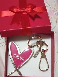Victoria Secret Heart Shaped Keychain