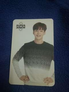 Henry official photo card