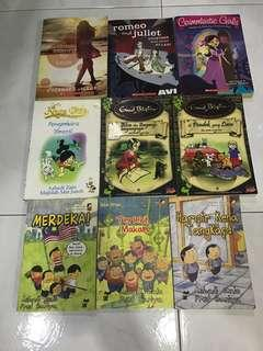 [RM 3] BOOKS ALL FOR RM40 Inc postage to wm