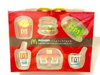 Nanoblock MacDonald's Limited edition collectables