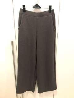 Celana Kulot Panjang Grey