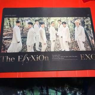 EXO The Elyxion in Seoul - Mousepad / Mat Global Package