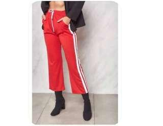 Shopcopper Red Pants