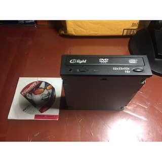 Enlight CD-RW  DVD-ROM Combo Drive IDE  Desktop Black