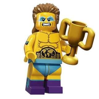 全新 LEGO 71011 Wrestling Champion 人仔 S15-14