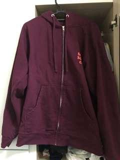 """9525cea1f2ff ASSC """"Lost Feelies"""" zip-up jacket"""