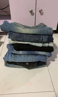 Bundle set Jeans Dress & Pants