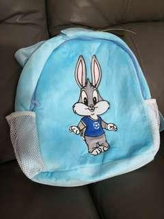 Cute kids bag - barney light blue