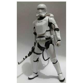 """無包裝 二手 2015年 Hasbro Star Wars The Black Series 6"""" First Order Flametrooper action figure 1款"""