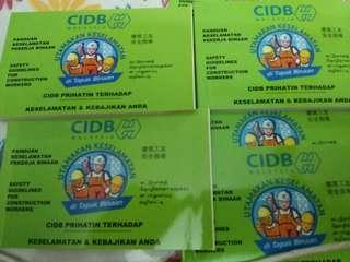 Apply or renew green card CIDB