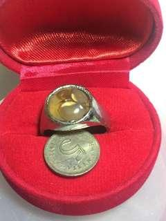 cincin batu akik ikat tembaga