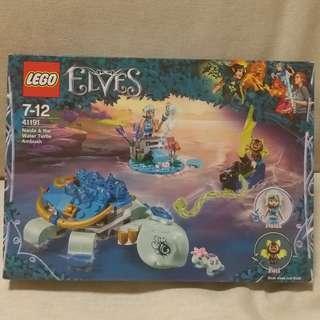 全新 LEGO Elves 41191 - Naida & The Water Turtle Ambush