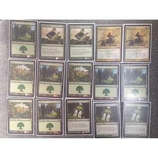 Magic Cards 7 Rare 13 Uncommon 48 Common