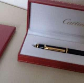 Cartier Diabolo Ball pen.