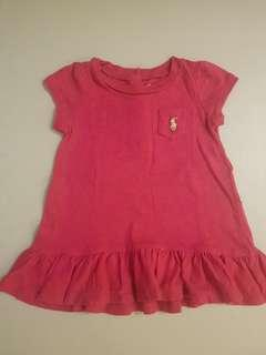 Ralph Lauren Baby Girl's Shirt Dress 6-9 mos.