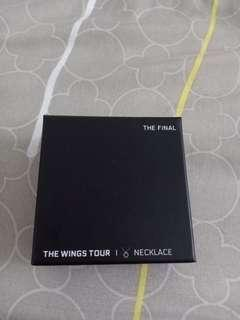 WTS -- BTS WINGS TOUR Necklace