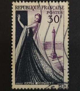 🚚 France 1953. Modern Industry complete stamp set of 1