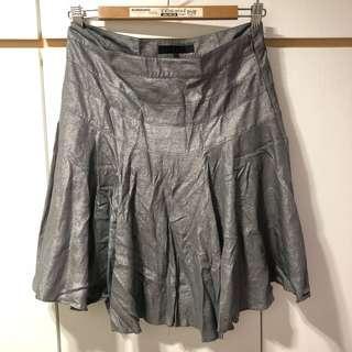 b+ab 銀灰色半截裙