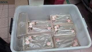 🚚 鐵架愛心框,長方行相框,面紙盒