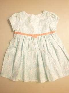 Gymboree Baby Girl's Dress Floral Dainty 6-12 mos.