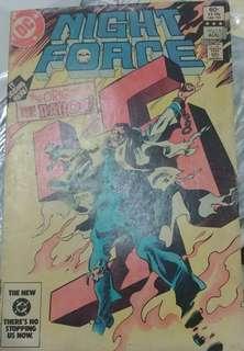 DC Night Force #13 comic
