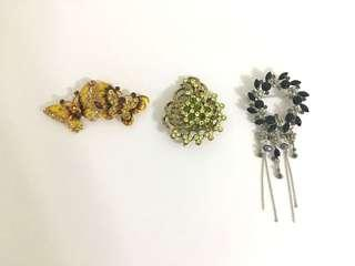 Bundled Brooches