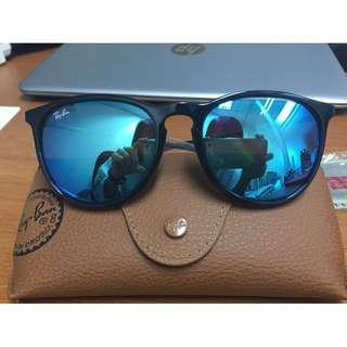 NEW Authentic Ray-Ban Erika Color Mix Blur Mirror Lens  RB4171 601 55