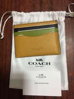 Coach card holder 卡包