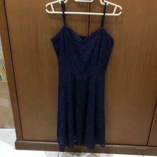 Cotton On Navy Lace Dress (SALE!!)