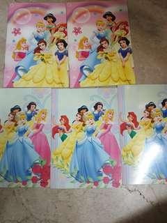 Disney Princess notebooks