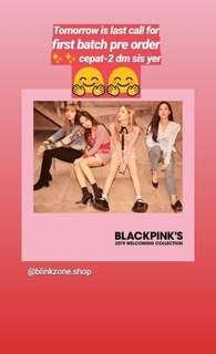 Blackpink 2019 welcoming collection