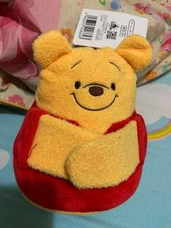 Winnie the Pooh 豆豆公仔🧸(叉電托住)