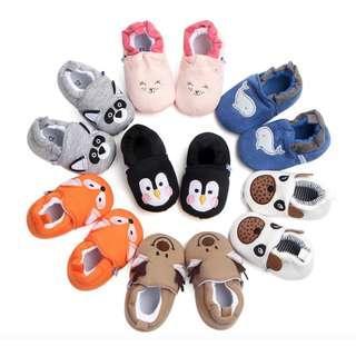 Sepatu Bayi cewe cowo Prewalker Zoo Import lucu murah