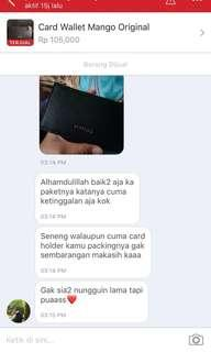 Customer Puas.. Penjual Happy