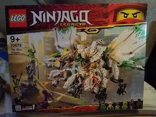 全新原裝行貨 lego ninjago 70679 the ultra dragon