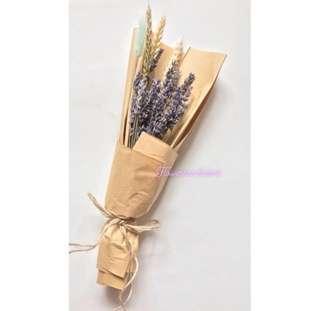 Dried Flower Bouquet lavender bouquet